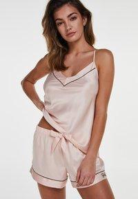 Hunkemöller - Pyjama top - pink - 0