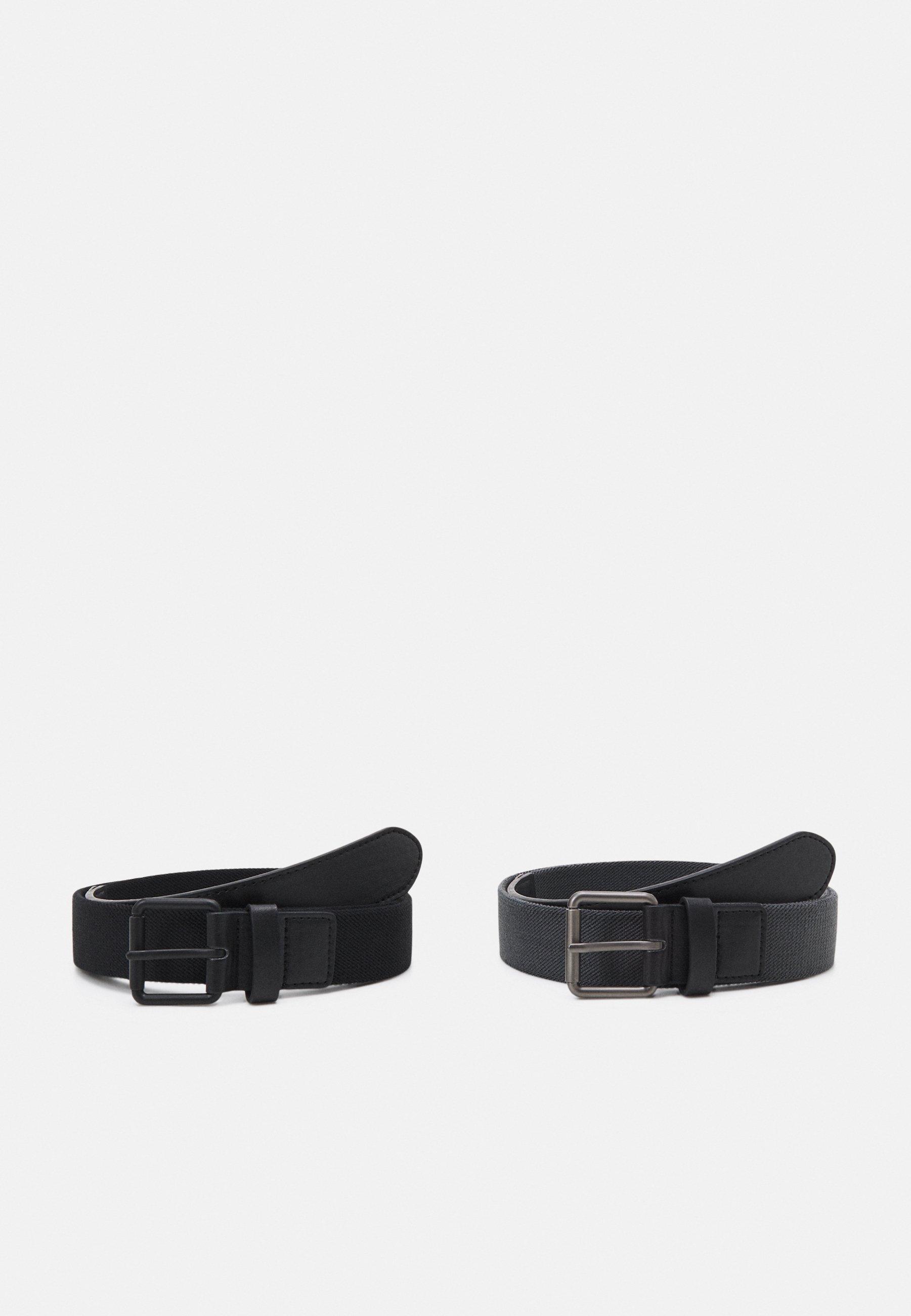 Uomo STRETCH BASIC BELT UNISEX 2 PACK - Cintura