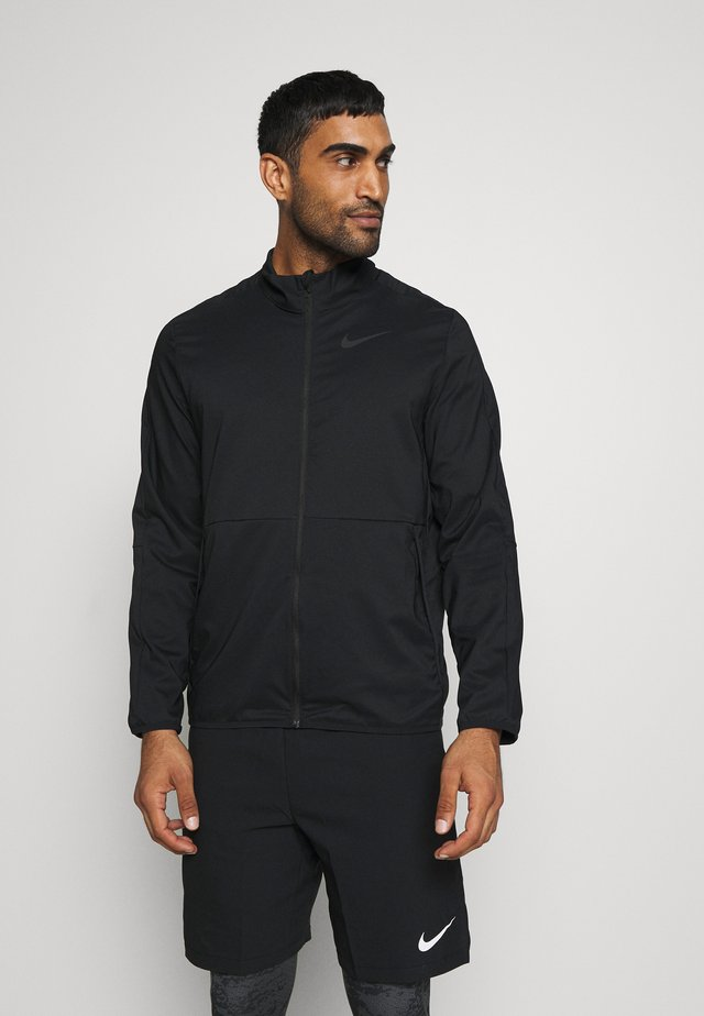 DRY TEAM - Trainingsjacke - black