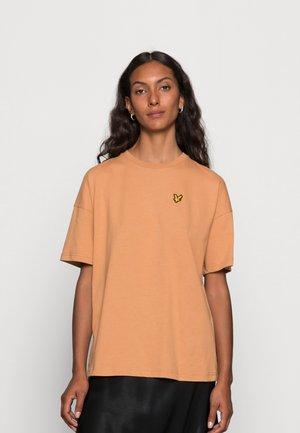 T-shirt - bas - tan