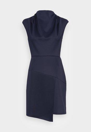 CLOSET HIGH NECK DRESS - Vestido de cóctel - navy