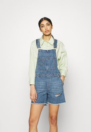 ONLAYLA LIFE  AUTHENTIC - Dungarees - medium blue denim