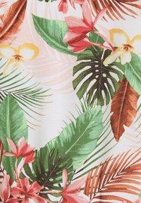 Vero Moda - VMSIMPLY EASY TIE SHORT DRESS - Day dress - birch/selma - 5