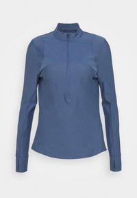 QUALIFIER HALF ZIP DAMEN - Camiseta de deporte - mineral blue