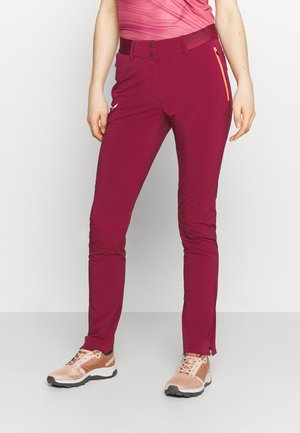 PEDROC  - Trousers - rhodo red