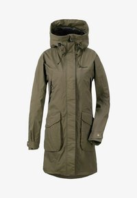 Didriksons - Waterproof jacket - fog green - 0