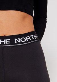 The North Face - FLEX MID RISE  - Tights - black/white - 8