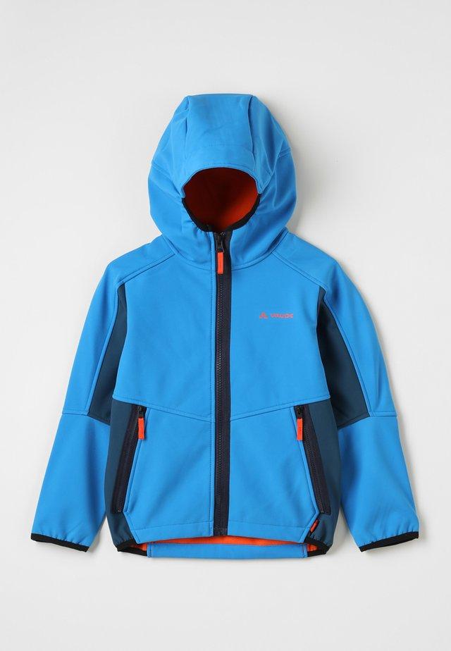 KIDS RONDANE JACKET III - Soft shell jacket - baltic sea