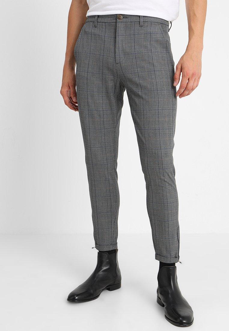 Gabba - PISA ENGLISH - Trousers - grey check