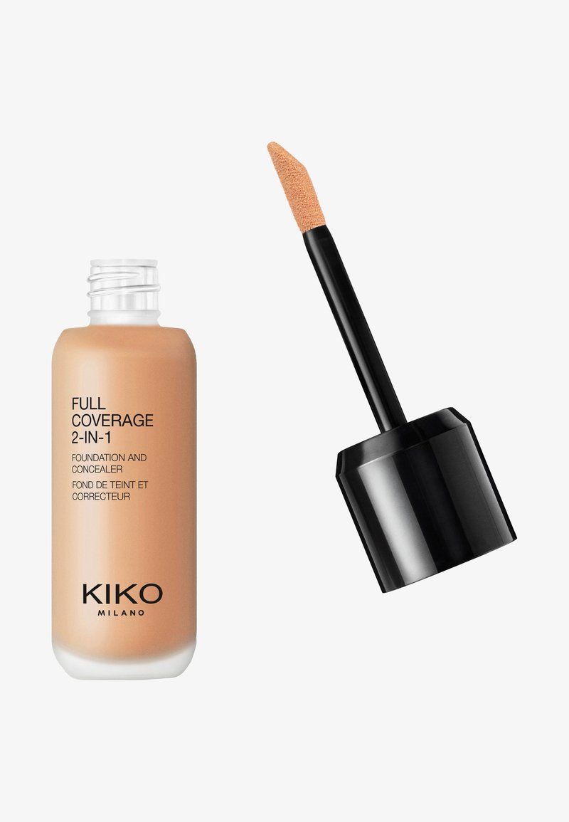 KIKO Milano - FULL COVERAGE 2 IN 1 FOUNDATION AND CONCEALER - Foundation - 60 warm beige