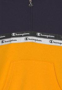 Champion - AMERICAN TAPE HOODED HALF ZIP UNISEX - Sweatshirt - dark blue - 2
