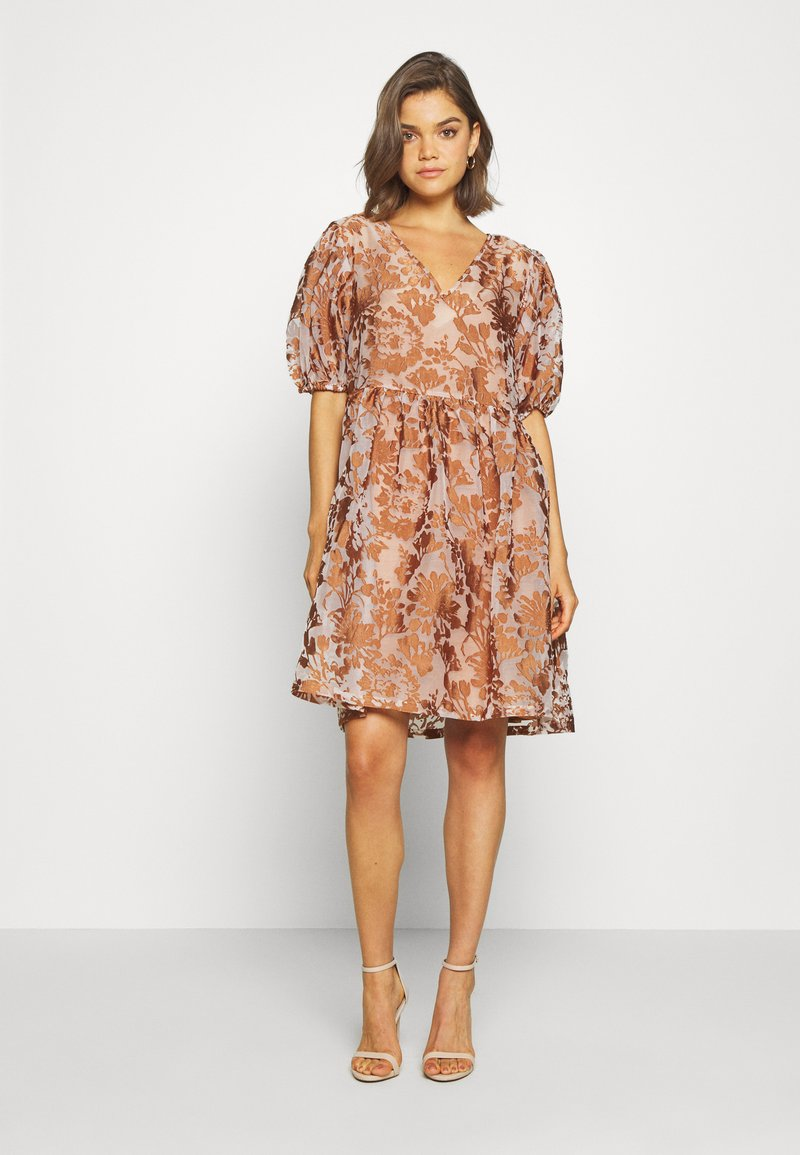 Object - OBJALICE SHORT DRESS FAIR - Day dress - sugar almond
