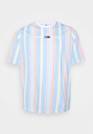 STRIPE TEE - T-shirt con stampa - light powdery blue