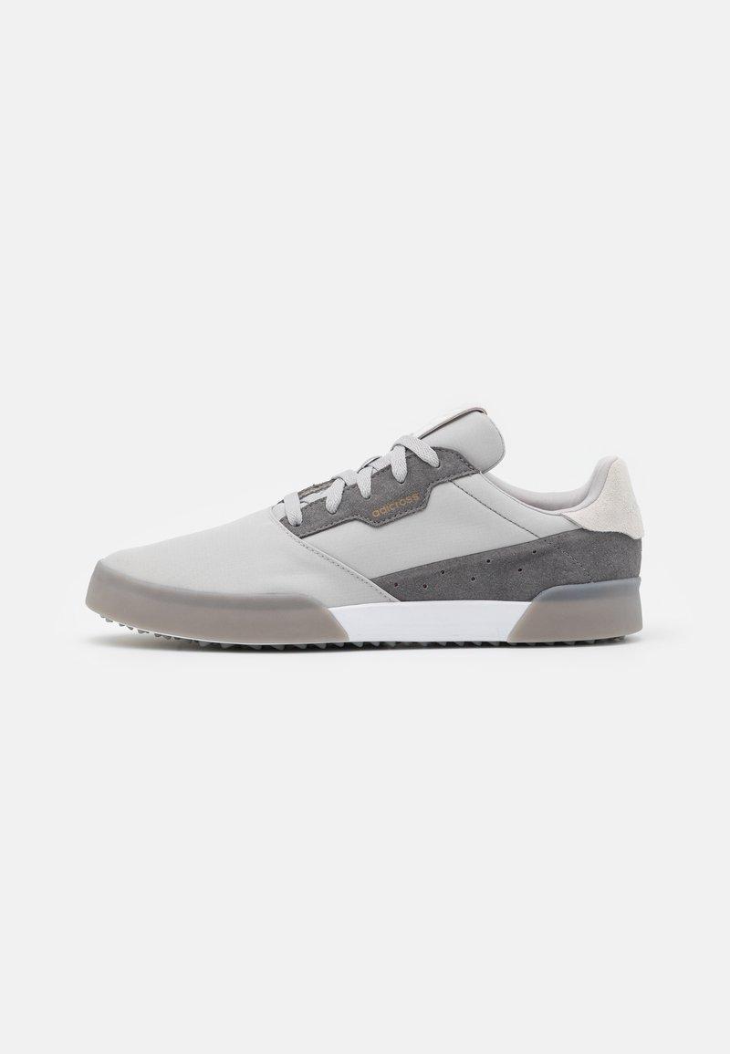adidas Golf - ADICROSS RETRO RIP - Golfové boty - grey two/footwear white/grey four