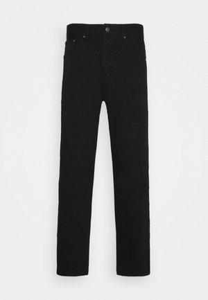 NEWEL PANT ALTOONA - Kangashousut - black garment