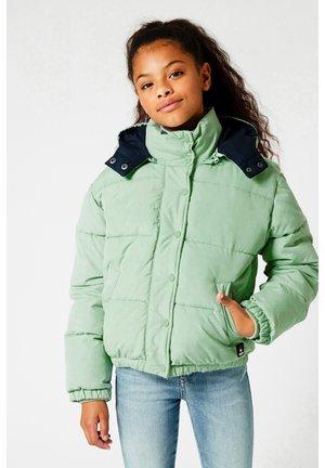 Winterjas - soft green