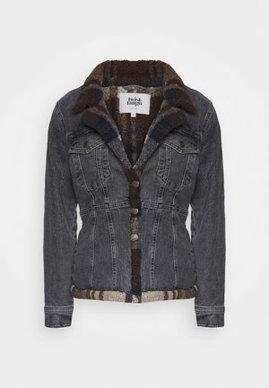 DELLA JACKET - Denim jacket - grey wash