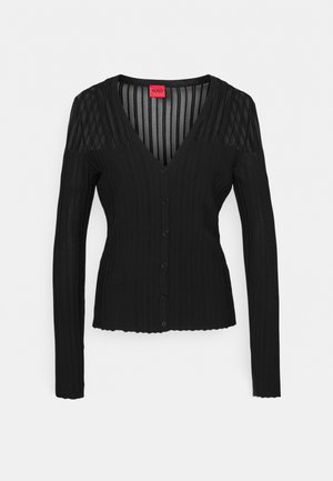 SHOMARA - Cardigan - black