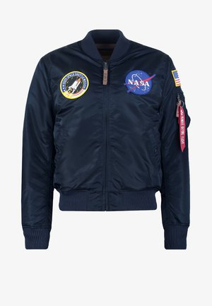 NASA - Kurtka Bomber - replica blue