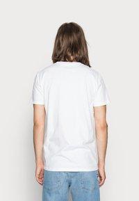 Hollister Co. - CREW CHAIN 3 PACK - Basic T-shirt - white - 2