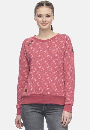 Sweatshirt - dusty red