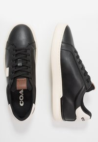 Coach - SIGNATURE - Trainers - black/chalk - 1