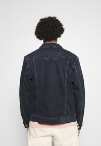 Calvin Klein Jeans - FOUNDATION DENIM JACKET - Kurtka jeansowa - blue black - 2