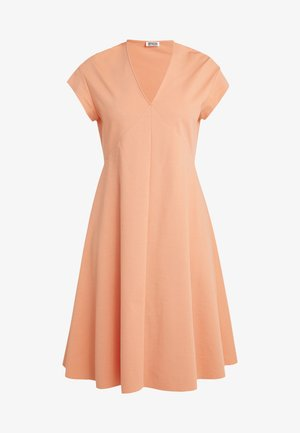 BASIMA - Žerzejové šaty - coral