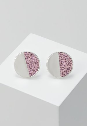 PAVE STUDS - Earrings - light amethyst