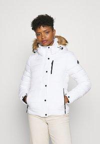Superdry - CLASSIC FUJI JACKET - Winter jacket - white - 0