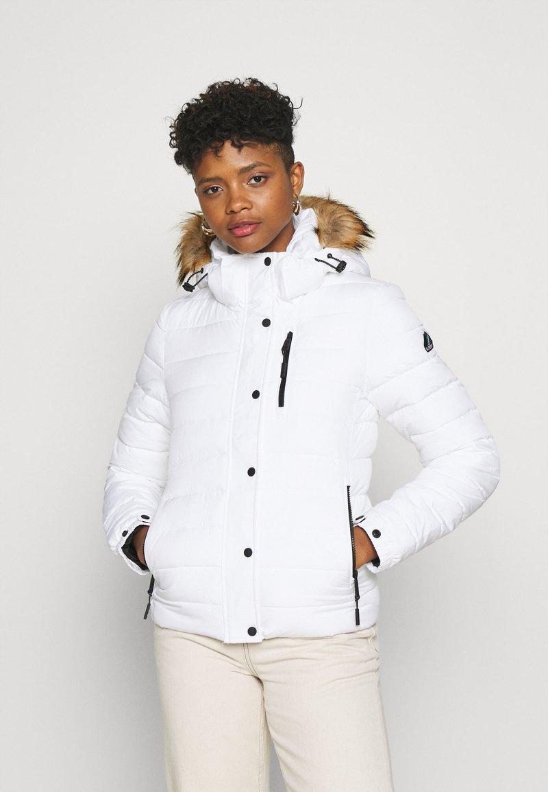 Superdry - CLASSIC FUJI JACKET - Winter jacket - white
