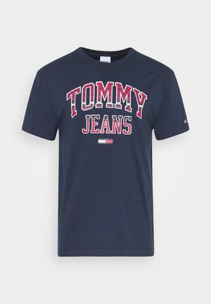 PLAID COLLEGIATE  - T-shirt z nadrukiem - twilight navy