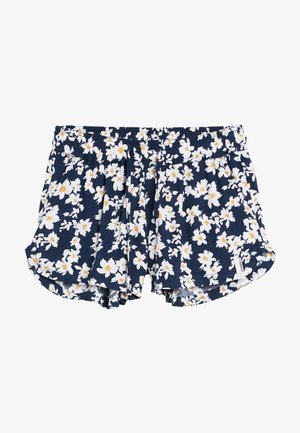 Shorts - blue with yellow