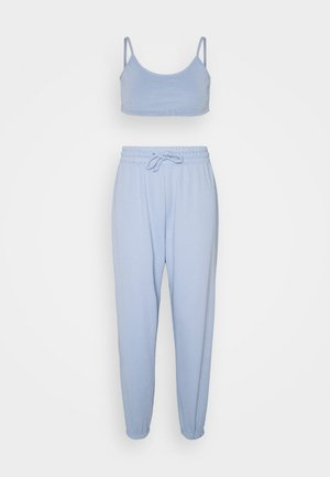 SET - Tracksuit bottoms - blue