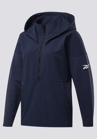 Reebok - UNITED BY FITNESS CONTROL HOODED JACKET - Cortaviento - blue - 2