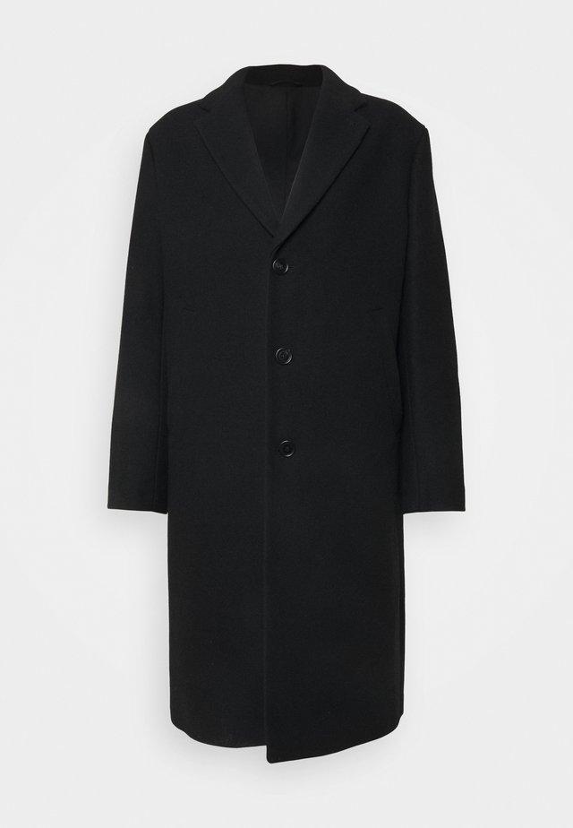 LONDON - Klasický kabát - black