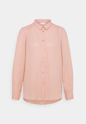 VILUCY BUTTON - Button-down blouse - misty rose