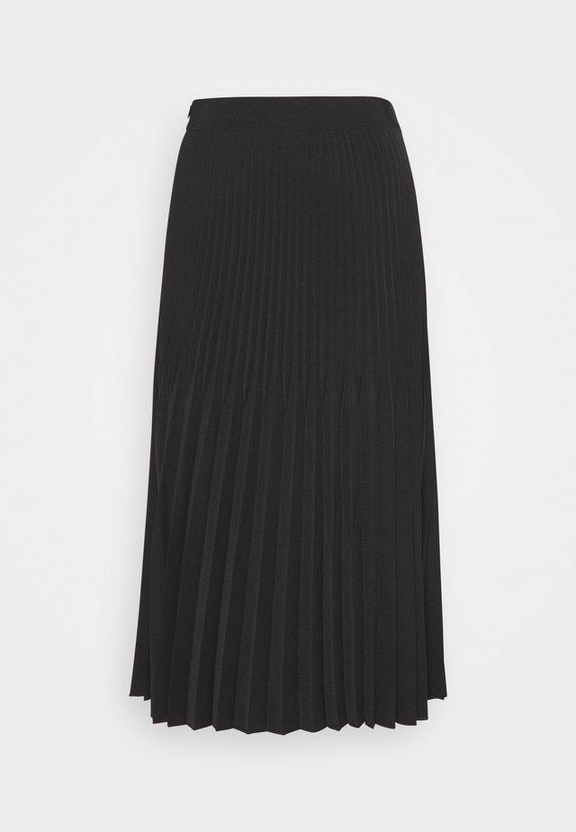 RINITA ROS - Pliceret nederdel /Nederdele med folder - black