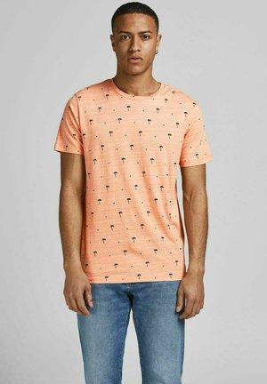 Print T-shirt - shell coral