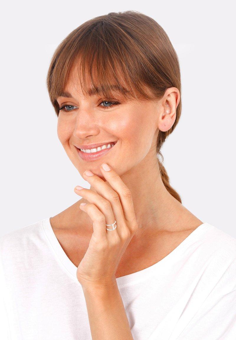 Elli - GEO - Ring - silver-colored