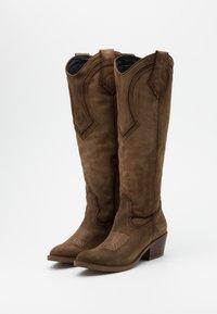 Kanna - Cowboy/Biker boots - cortina taupe - 2
