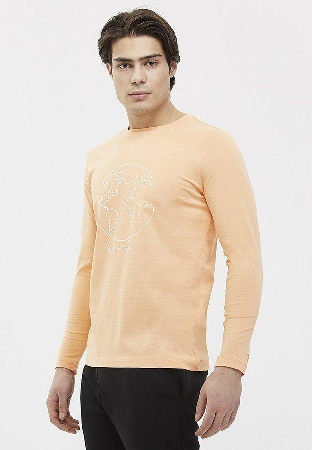 WORLD MAP - T-shirt à manches longues - coral sands