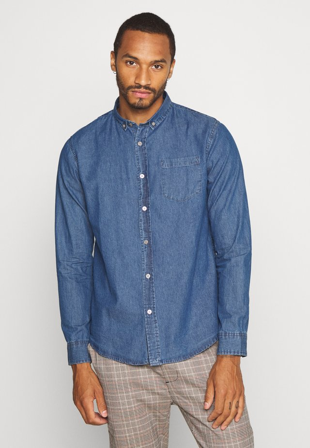 NARRATOR - Shirt - mid denim blue