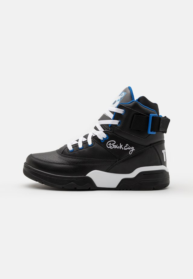 33 X TONY TOUCH - Sneakersy wysokie - black/princess blue/white
