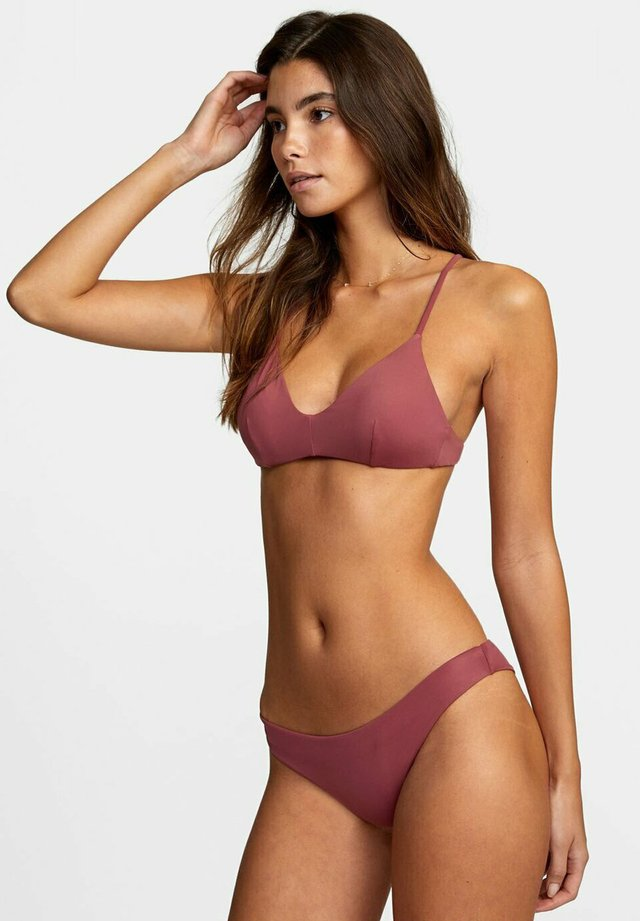 SOLID CHEEKY  - Bikinibroekje - plum berry
