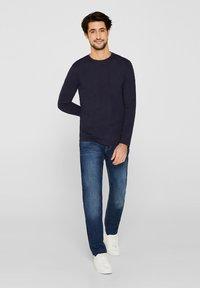 Esprit - LONG SLEEVE - T-shirt à manches longues - navy - 1