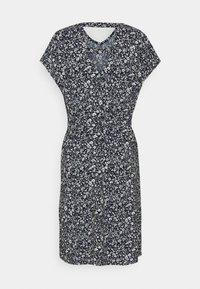 TOM TAILOR DENIM - DRESS WITH BACK DETAIL - Day dress - blue flower - 1