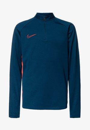 DRY ACADEMY DRIL - Sports shirt - valerian blue/laser crimson