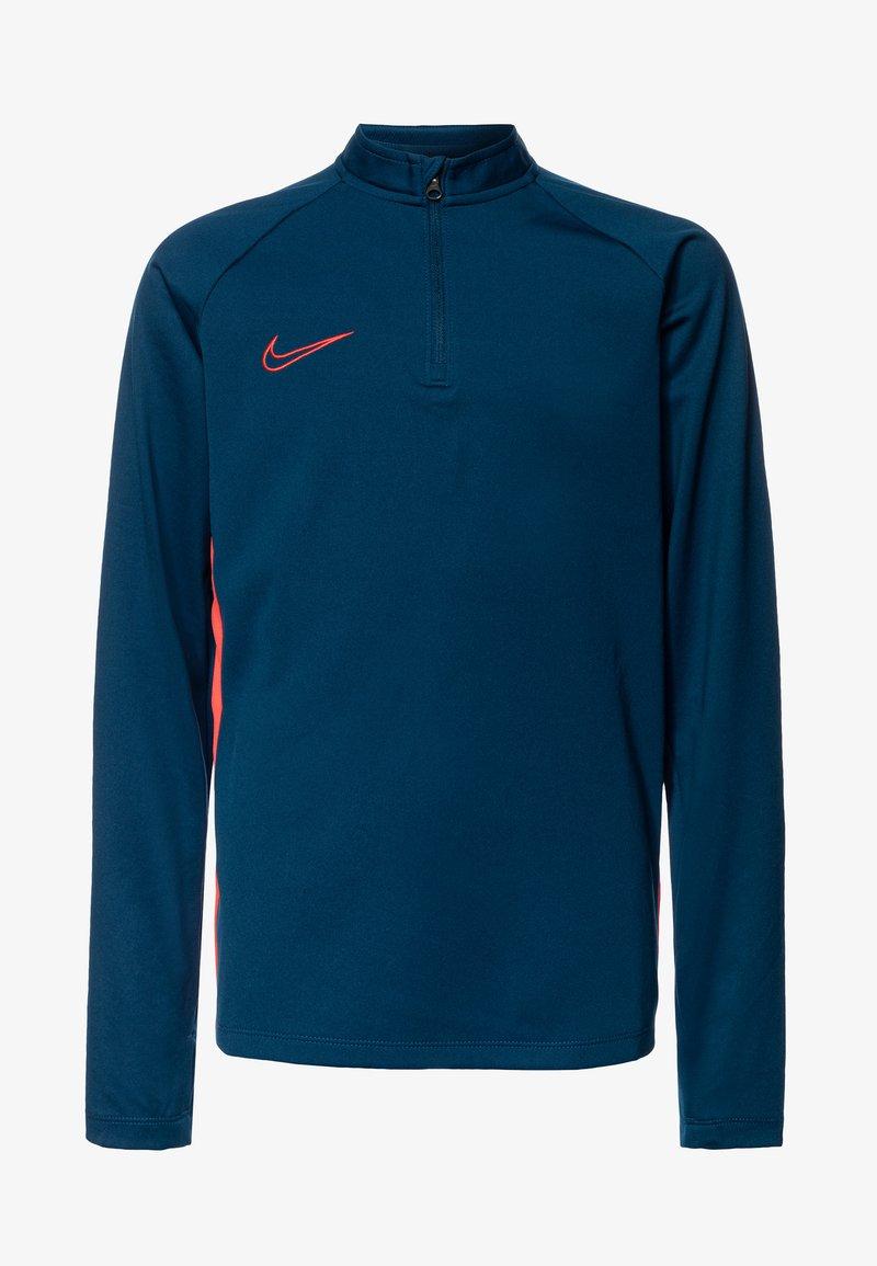 Nike Performance - DRY ACADEMY DRIL - Sports shirt - valerian blue/laser crimson