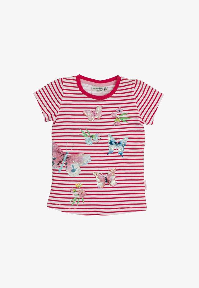 Print T-shirt - strawberry ice